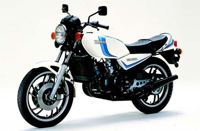 画像: 03. YAMAHA RZ350(1981年2月発売)