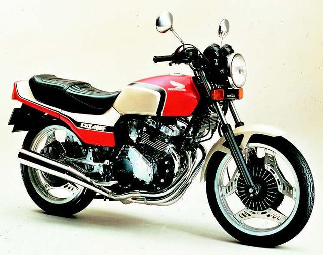 画像: 01. HONDA CBX400F(1981年11月発売)