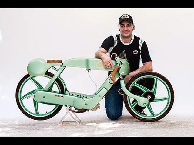 画像: Custom Piaggio Ciao PX Racer by OMT Garage www.youtube.com