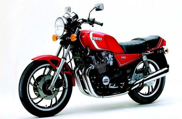画像: 08. YAMAHA XJ750E(1981年5月発売)
