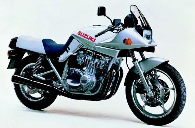 画像: 09. SUZUKI GSX1100Sカタナ(1981年発売)