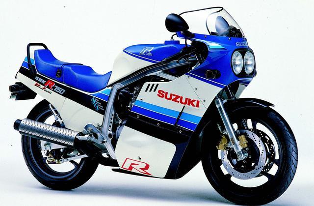 画像: SUZUKI GSX-R750(1985年3月発売)