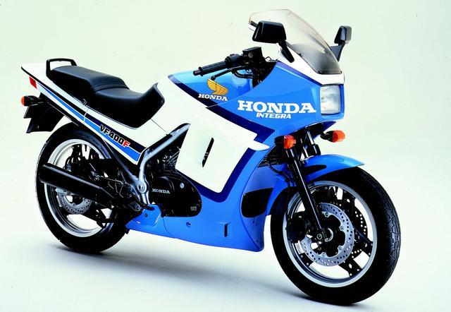 画像: VF400Fインテグラ(1984年1月発売)