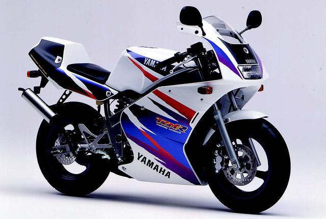 画像: YAMAHA TZM50R(1994年2月発売)