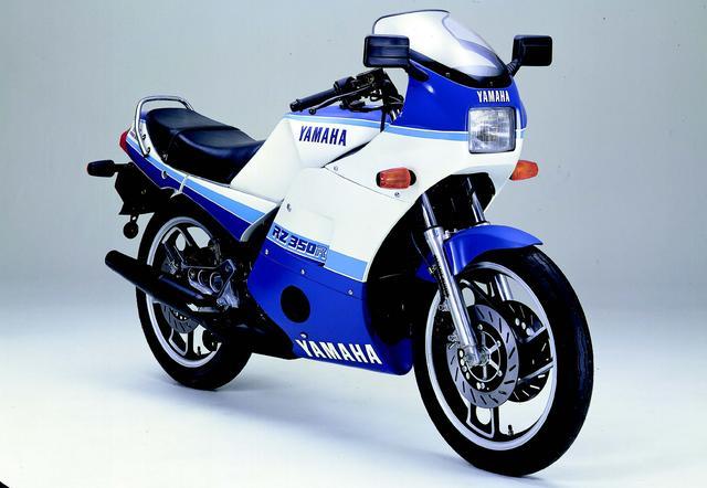画像: YAMAHA RZ350RR(1984年4月発売)
