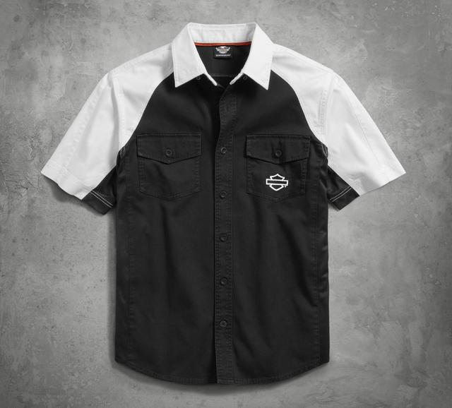 画像: Performance Vented Contrast Shirt ¥12,100-