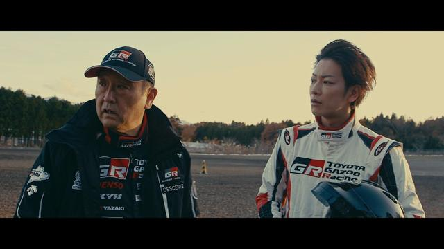 画像: TOYOTA GAZOO Racing TAKERU SATOH MEETS GAZOO MORIZO篇 youtu.be