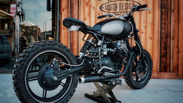 画像: Moto Guzzi V35 by Moto Design Customs www.youtube.com