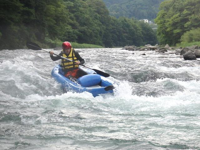 画像1: #008 やっぱり夏は水あそび! ~激流 川くだり~