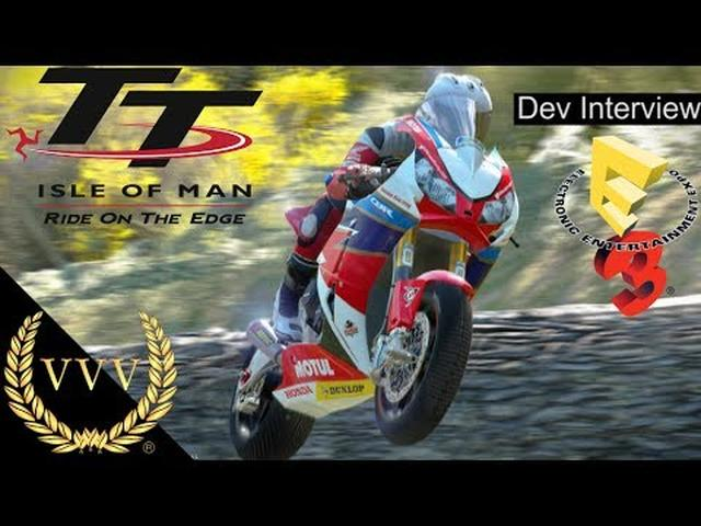画像: Isle of Man TT Interview E3 2017 youtu.be