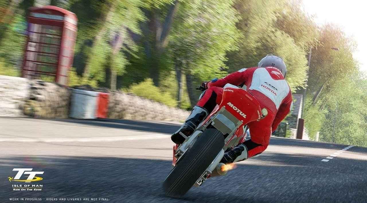 画像: 開発画面のスクリーンショット。巨大なコースの風景が完全に再現されています。 www.teamvvv.com