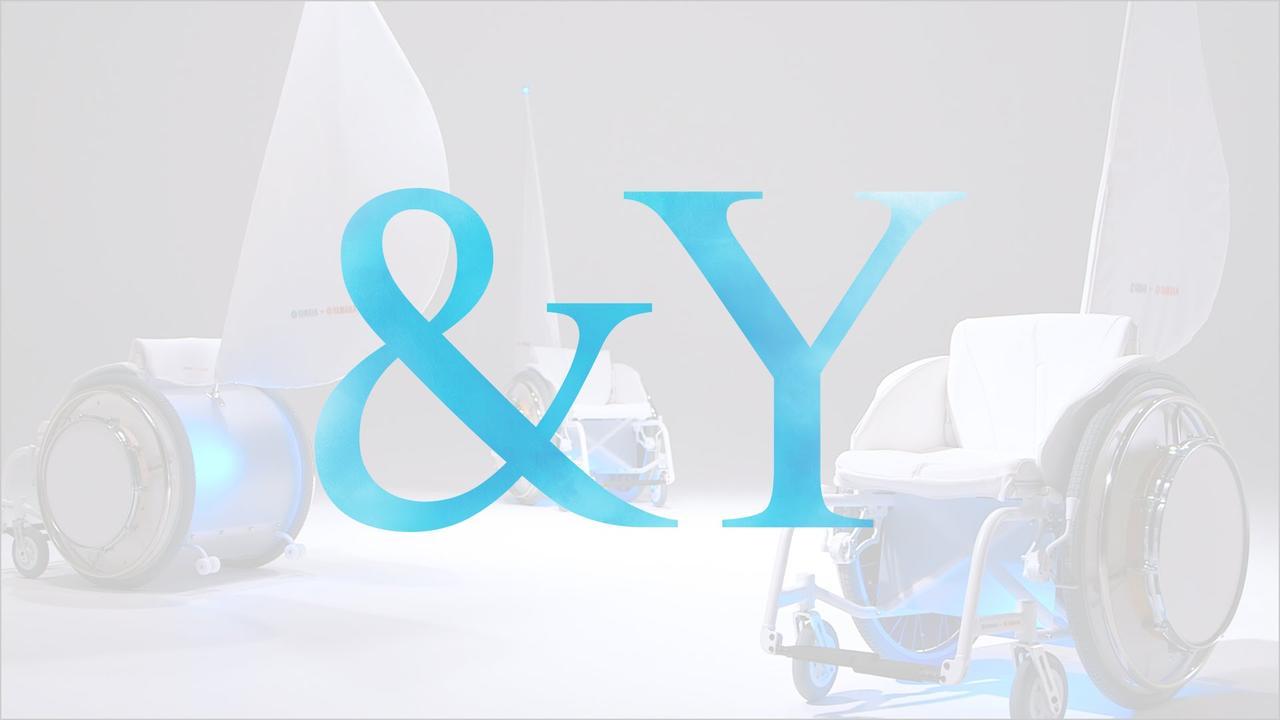 画像: &Y electrically power-assisted wheelchair that plays music youtu.be