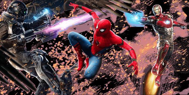 画像: いままでにない、新しいスパイダーマン像