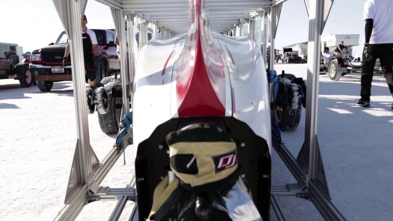 画像: [Me and Honda] Bonneville Speed Challenge Project   世界最速記録への挑戦 youtu.be