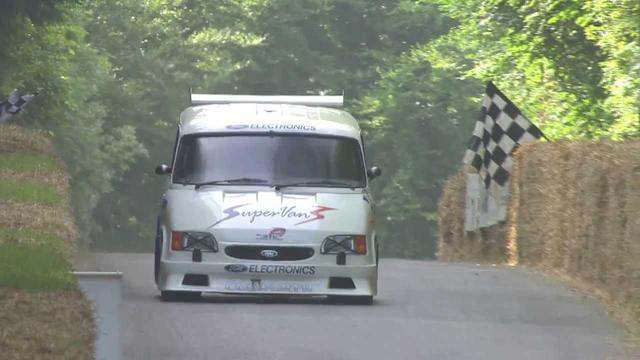 画像: Ford Transit Supervan 3 at Goodwood Festival of Speed 2013 youtu.be