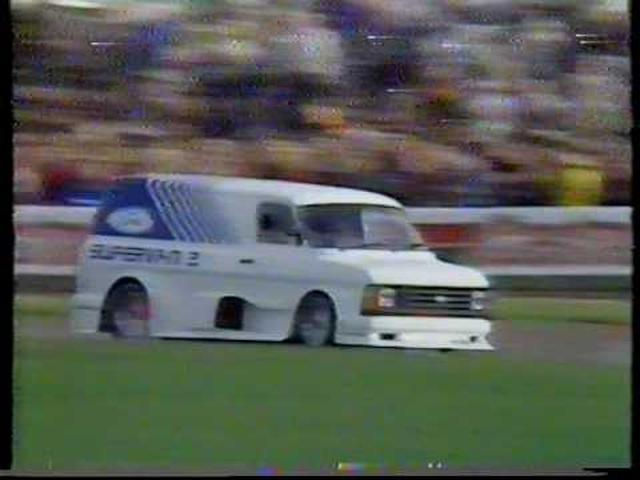 画像: Ford Transit Supervan 2 Donington 1986 youtu.be