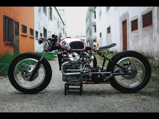 画像: Custom Honda CX500 Cafe Racer by Rusty Factory www.youtube.com