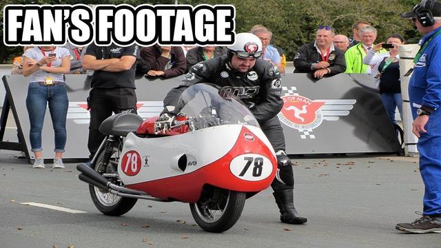 画像: Michael Dunlop remembers Bob McIntyre | Fan's Footage youtu.be