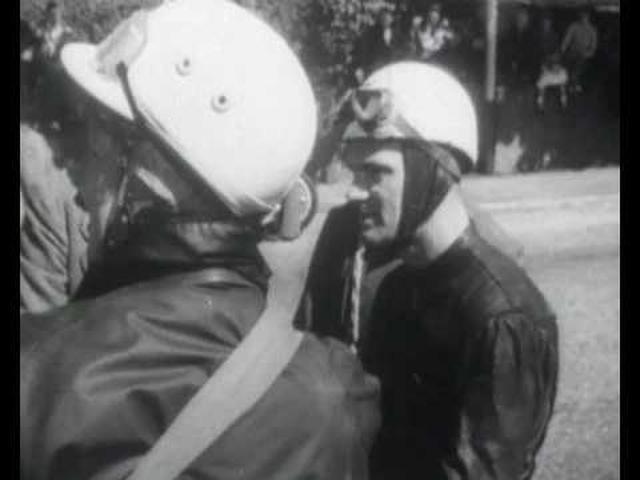 画像: Bob McIntyre breaks 100mph lap barrier! Isle of Man TT 1957 | Gilera youtu.be