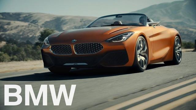 画像: The BMW Concept Z4 (2017). - YouTube www.youtube.com