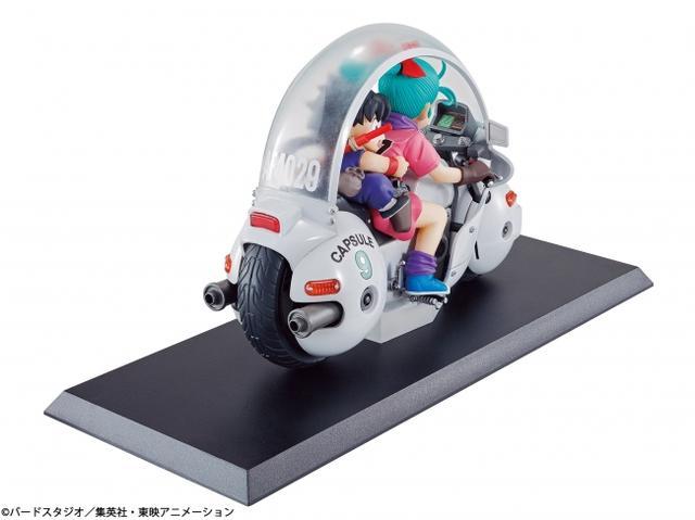 画像2: バイクに乗る孫悟空とブルマのフィギュアが可愛すぎる♡9月7日(木)より先行予約開始。【ロレンス的ニュース】