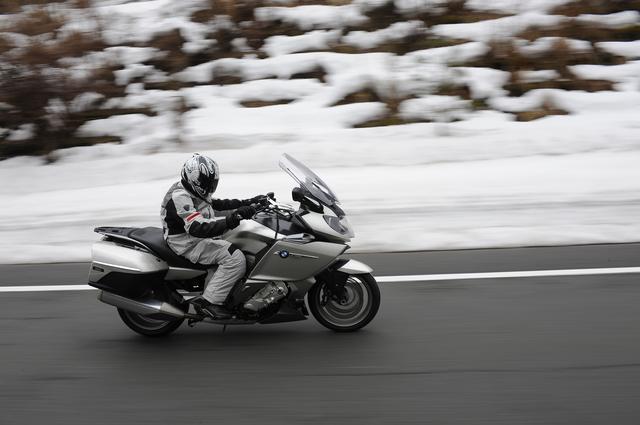 画像: 中国道が雪でした。今となっては笑い話です。
