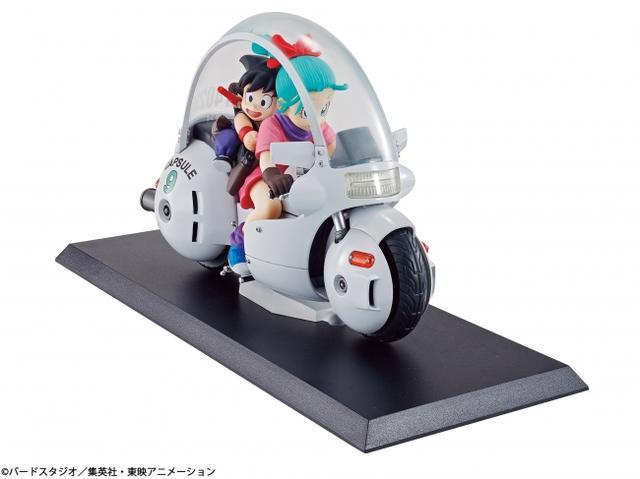 画像1: バイクに乗る孫悟空とブルマのフィギュアが可愛すぎる♡9月7日(木)より先行予約開始。【ロレンス的ニュース】