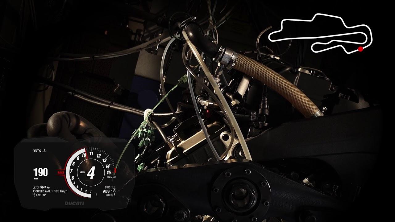 画像: Ducati Desmosedici Stradale - The sound of a new era - Test bench youtu.be