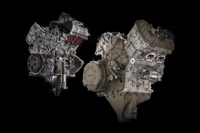 画像: プライマリーバランスが優れた90度V4を採用することで、14,000rpmを超える回転数でもエンジンの信頼性は保たれ、機械的効率も優れている・・・とドゥカティはアピールしています。 desmosedicistradale.ducati.com
