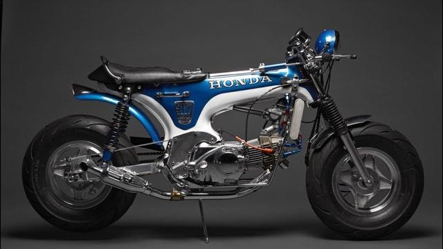 画像: Custom Honda CT70 Dax by Davmomoto www.youtube.com