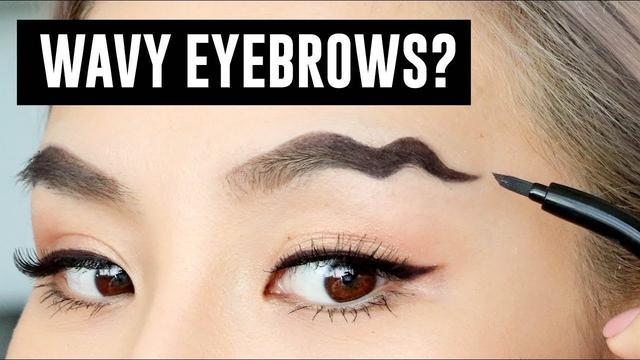 画像: Wavy Brows- The Latest Makeup Trend youtu.be