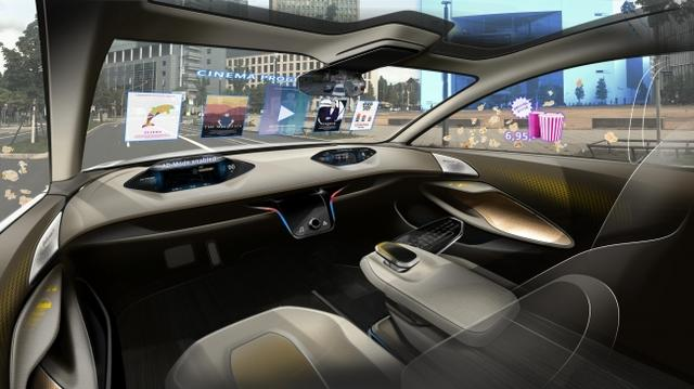 画像1: こんなハイテクな運転席の将来もそう遠くない?コンチネンタルが描く未来のコックピット【本日の敏感】