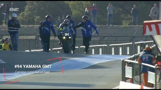 画像: FIM EWC - Bol d'Or 2017 - GMT94 Yamaha out of gas. youtu.be