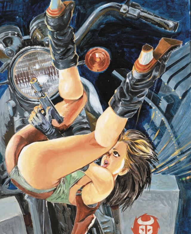 画像: とにかく食い込むヒップが魅力のユキ。 だれでですか、このポーズで撃たれたい!なんてつぶやいているのは・・・ www.motormagazine.co.jp