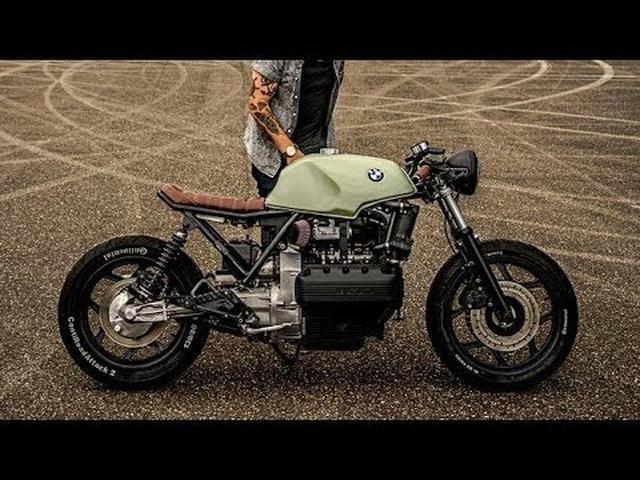 画像: BMW K100 Cafe Racer by Ironwood Custom Motorcycles www.youtube.com