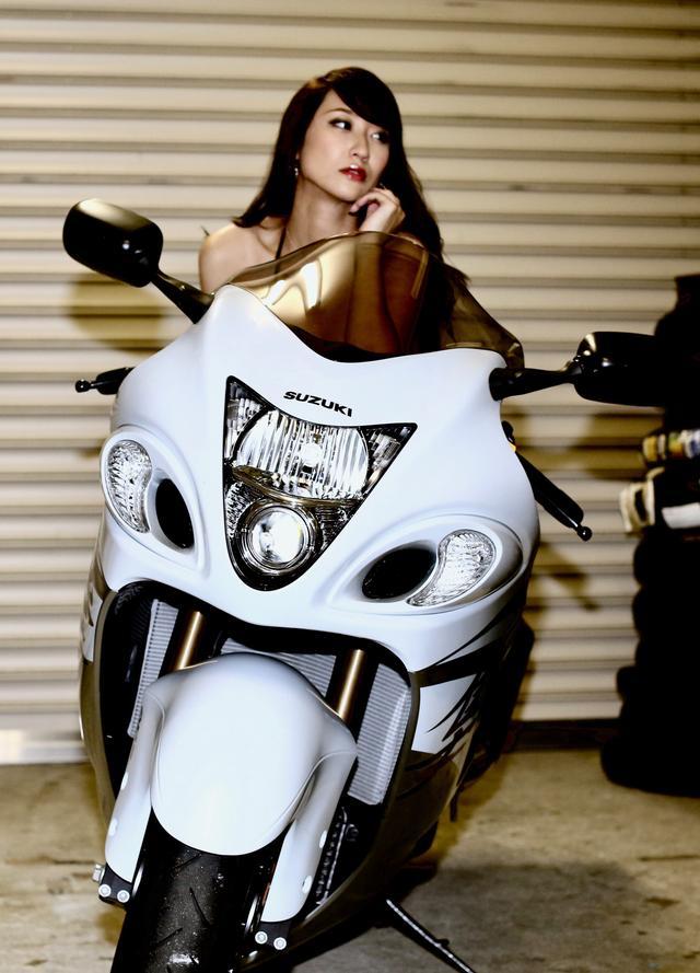 画像1: 【Beauty & Bike】ミクと隼 vol.04