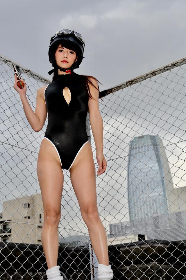 画像2: グラビア【ヘルメット女子】SING vol.02