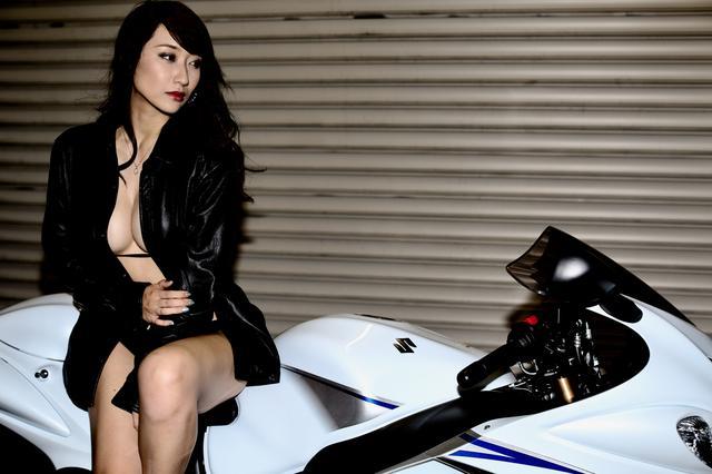 画像4: 【Beauty & Bike】ミクと隼 vol.15