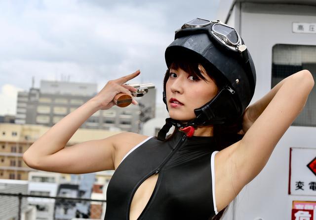 画像1: グラビア【ヘルメット女子】SING vol.17