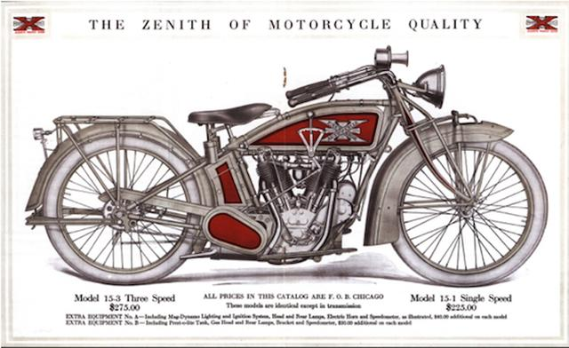 画像: Excelsior-Henderson Motorcycle Brand to be auctioned off by Mecum.