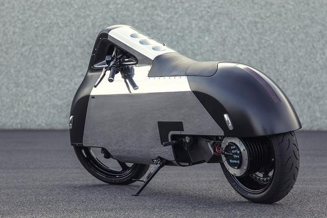 画像: The VX-1 Maxi Scooter 'Hope' Looks Towards The Future