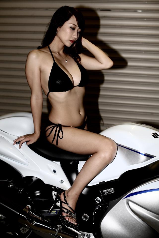 画像3: 【Beauty & Bike】ミクと隼 vol.17