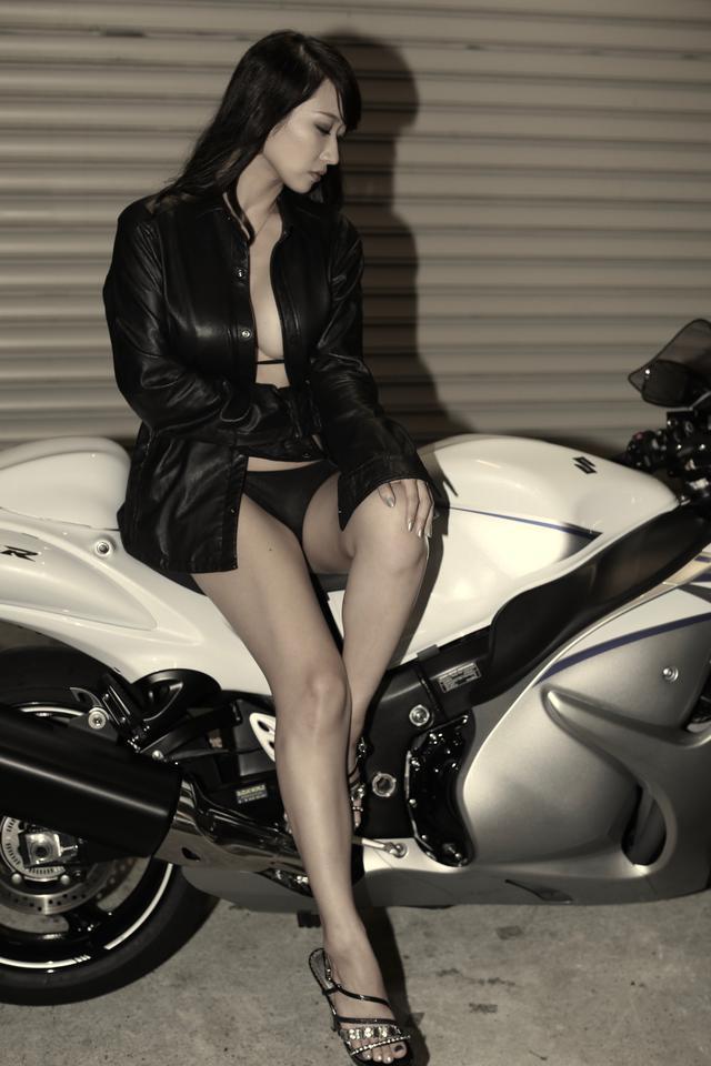 画像2: 【Beauty & Bike】ミクと隼 vol.16