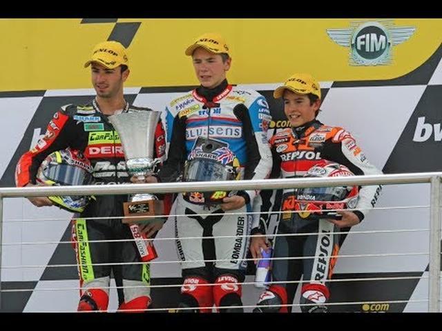 画像: Marc Márquez: el piloto más joven en sumar 100 podios. The youngest rider to reach 100 podiums youtu.be