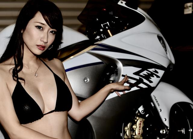 画像3: 【Beauty & Bike】ミクと隼 vol.22