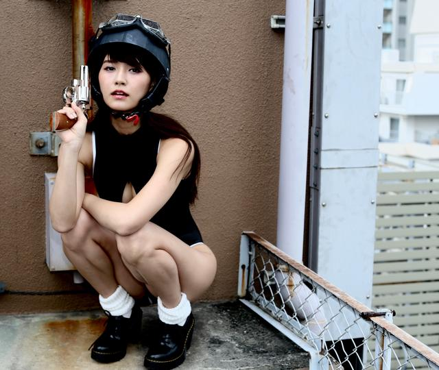 画像2: グラビア【ヘルメット女子】SING vol.23