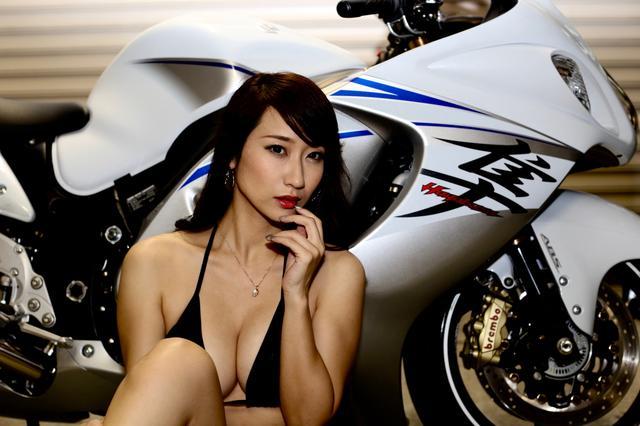 画像4: 【Beauty & Bike】ミクと隼 vol.24