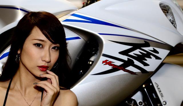 画像3: 【Beauty & Bike】ミクと隼 vol.24