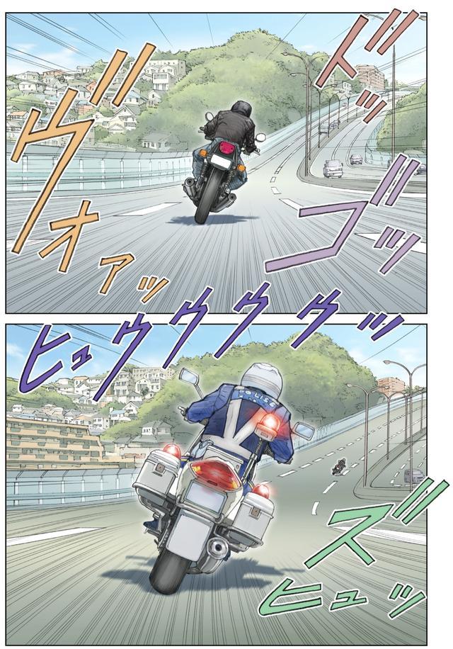 画像: 高速道路で白バイに追っかけられたら・・・・たいていのバイク乗りにとっては悪夢の瞬間のはずだが・・