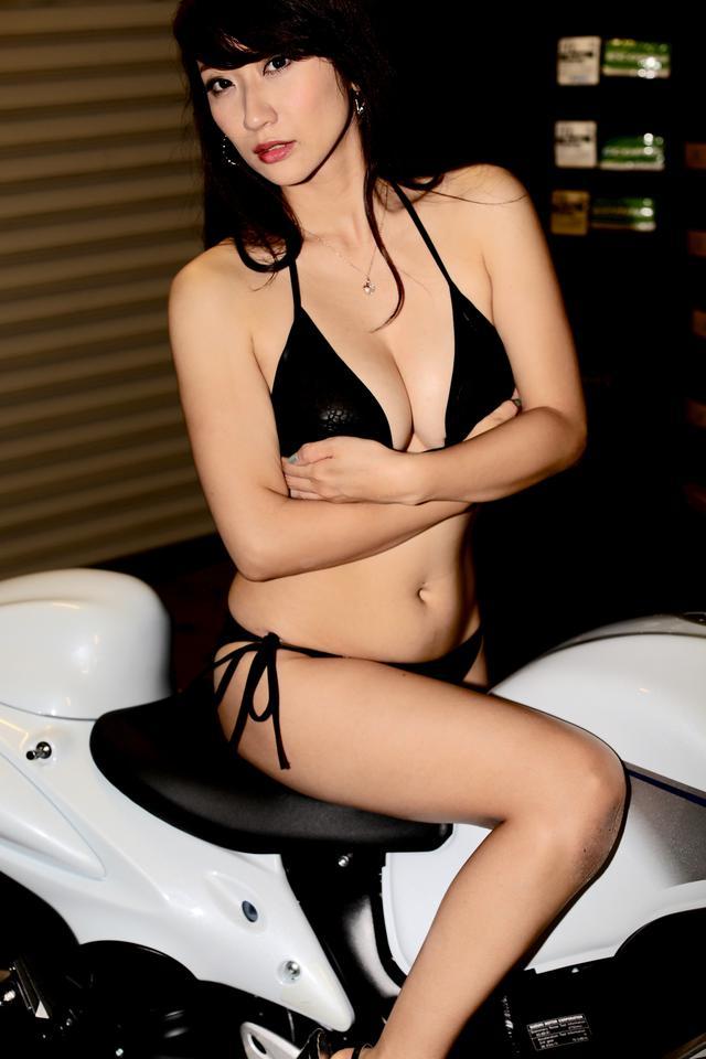画像1: 【Beauty & Bike】ミクと隼 vol.43